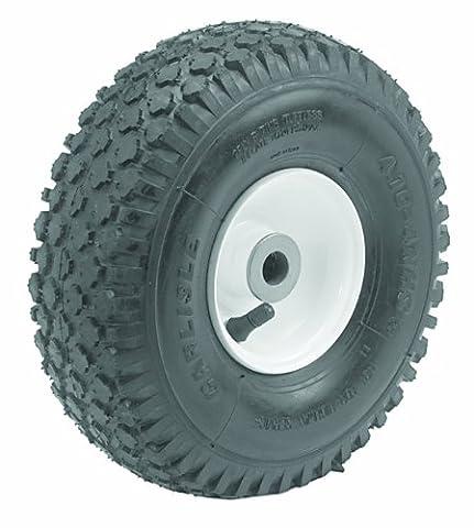 Oregon 72-714 Caster Wheel Assembly 410/350-4 Stud Tread