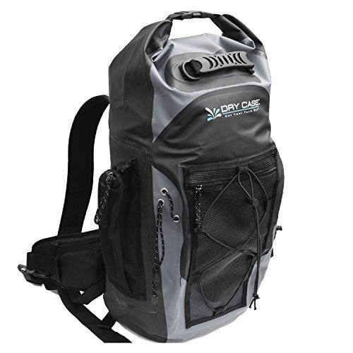 DryCase Wasserdichte Tasche 2015Masonboro 35Liter wasserdicht Adventure Rucksack–bp-35 Grau/Schwarz