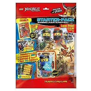 Top Media 180316 Lego Ninjago Serie IV - Set per Principianti, Composto da Raccoglitore, Booster, Biglietto in Oro limitato e Cartolina XXL, Multicolore