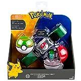 Pokemon T18206 - Pokeball Gürtel (Farblich Sortiert)