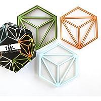 Hexa sottobicchieri, by tiil. Set di 6Plus