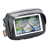Smartphone und GPS Halter für den Lenker; für Geräte mit einem Bildschirm bis 4,3 Zoll.