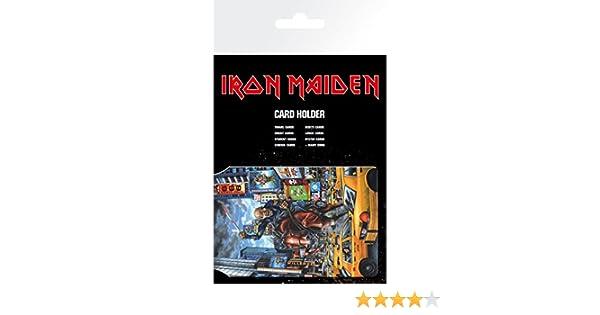 GB eye LTD Porte Carte New York Iron Maiden