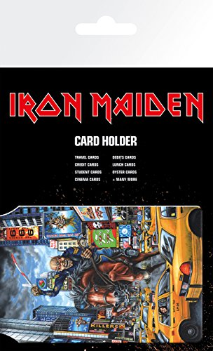 GB eye LTD, Iron Maiden, New York, Porte Carte