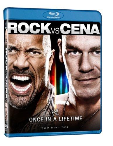 WWE: The Rock vs. John Cena - Once in a Lifetime [Blu-ray] by John Cena