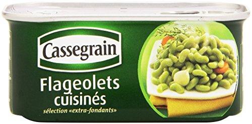 Cassegrain Flageolets Bohnen extra fein, Füllmenge 200g/ATG 130g