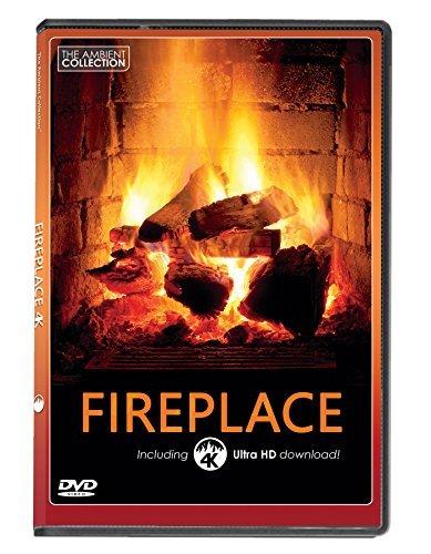 FEUER DVD | KAMINFEUER mit 4K ULTRA HD Download mit langen Holzfeuern und Geräuschen von brennendem Holz (Hd Download)