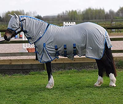 Ridemaster Combo Fly Rug All Sizes Horse & Pony FREE FLY MASK - inexpensive UK light store.