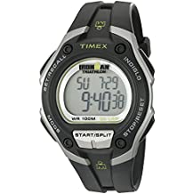 Timex Ironman T5K412 - Reloj de cuarzo para hombres, correa de caucho, color negro