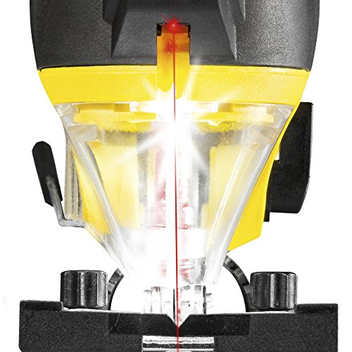 TROTEC Stichsäge PJSS 11-230V Pendelhubstichsäge inklusive Stichsägeblätter-Set Metall (10-teilig) - 4
