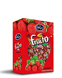Oshon Simply Irresistible Natural Flavor Fruito Jelly Strawberry - 500gms