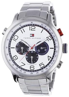 Tommy Hilfiger Watches 1790765 de cuarzo, correa de acero inoxidable color plata