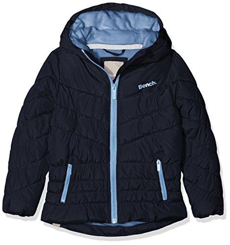 Bench Mädchen Jacke Wadded Jacket 2, Blau (Essentially Navy Bl11341), 128 (Herstellergröße: 7-8) (Mädchen Jacke Winter)