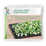TOUPARGEL - Légumes verts pour potage - 600 g - Surgelé