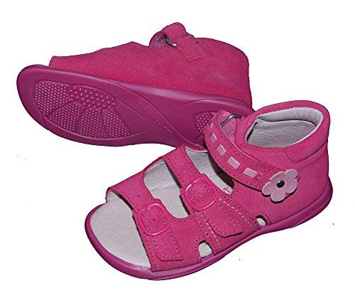 Däumling bébés, sandales sommerschuhe, chaussures premiers pas Rose - pnk (Turino ciclamino)