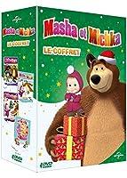 Masha et Michka - Le Coffret: Les Trois Mousquetaires + Tous sur la glace + Joyeux Noël + La fille des neiges