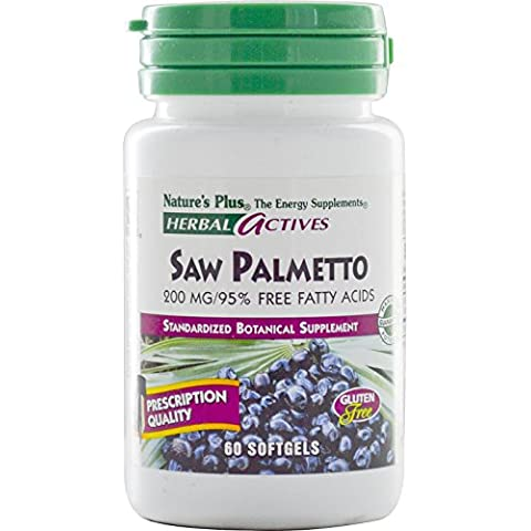 Nature's Plus Herbal Actives Saw Palmetto 200mg 60 Softgels