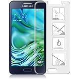 Cabling® Protección de pantalla para Samsung Galaxy A3(2015) vidrio templado premium anti golpes y Cassia, anti huella digital y Gras, Dureza Max 9H, alta definición para Samsung A3(2015)