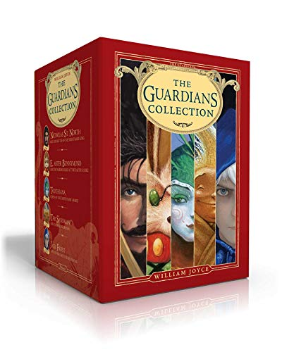 The Guardians Collection: Nicholas St. North and the Battle of the Nightmare King; E. Aster Bunnymund and the Warrior Eggs at the Earth's Core!; ... The Sandman and the War of Dreams; Jack Frost