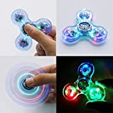 #8: Fancyku LED Glowing In The Dark, Crystal Finger Spinner