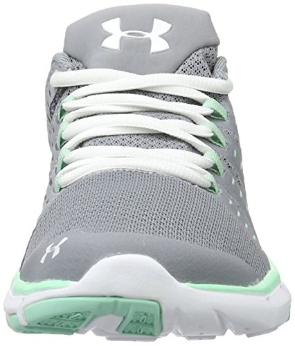 Under Armour Micro G Limitless Training 2, Scarpe Sportive Indoor Donna Grigio (Steel)