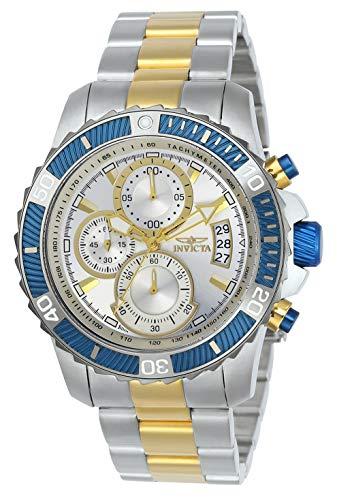 Invicta 23994 Pro Diver Reloj para Hombre acero inoxidable Cuarzo Esfera plata