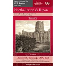 Northallerton and Ripon (Cassini Old Series Historical Map)