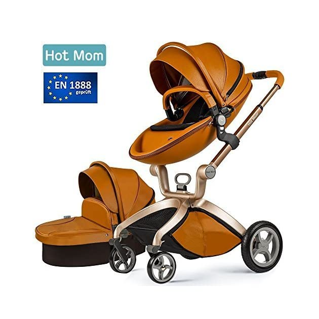 Hot Mom 3 in 1 Baby Stroller Travel System With Bassinet