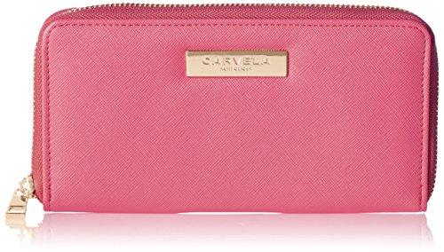 Carvela Damen Alis2 Zip Wallet Geldbörse, Pink (Fushia), 2.5 x 10.5 x 19 cm (Pink Classic Geldbörse)