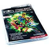Comic Bags Resealable (Current Size, Pack of 100)