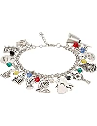 Accessorisingg Beauty And The Beast Multi Charm Bracelet [BR103]