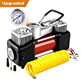Best Portable Compressors - Audew Tyre Inflator Portable Air Compressor Pump, Tire Review