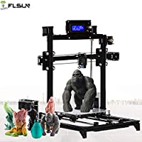Prusa i3 3d Printer DIY Kit RepRap Auto leveling with Large 3D Printing Size High Accuracy and stability Heated Bed LCD Display