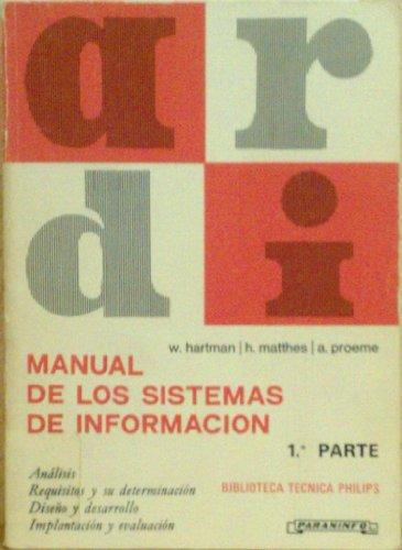 Manual de los sistemas de informacion; t.1