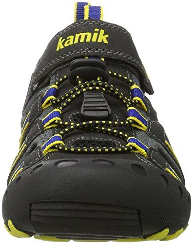 Kamik  Crab, Sandales de sport mixte enfant Schwarz (BLACK/NOIR)