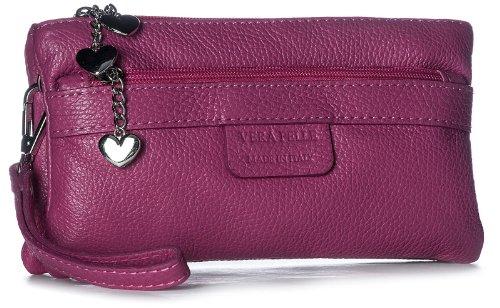Big Handbag Shop, Poschette giorno donna Rosa (Magenta Pink)
