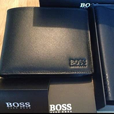 hugo boss asolo portefeuille 100 cuir pour homme bo te cadeau noir chaussures et sacs. Black Bedroom Furniture Sets. Home Design Ideas