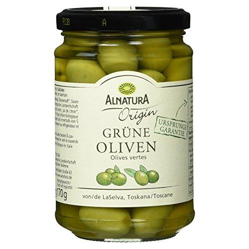 Alnatura Bio Origin grüne Oliven, 310 g