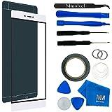 MMOBIEL Kit de Reemplazo de Pantalla Táctil para Huawei P7 (Blanco) incluye pantalla de Vidrio / cinta adhesiva de 2 mm / Kit de Herramientas / Limpiador de microfibra / alambre Metálico