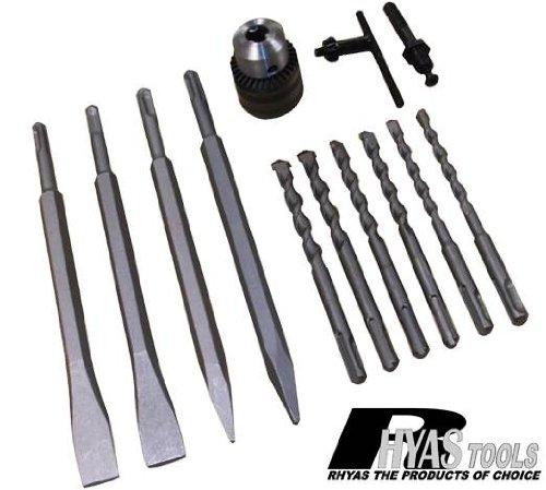 Preisvergleich Produktbild Taurus SDS - Bohrer & Meißelset SDS einschließlich Spannfutter zum 1.27 cm Zylinderschaft Netzteil
