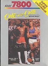 One on One Basketball - Atari 7800 - PAL
