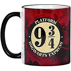 Harry Potter - Taza Hogwarts Express 9 3/4 - Expreso de Hogwarts