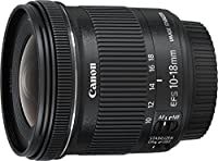 Canon EF-S 10-18 mm f:4.5-5.6 IS STM - Objetivo para Canon (Estabilizado...