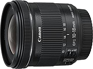 Canon EF-S 10-18 mm f:4.5-5.6 IS STM - Objetivo para Canon (Estabilizador óptico), color negro (B00KAQX66Y) | Amazon price tracker / tracking, Amazon price history charts, Amazon price watches, Amazon price drop alerts