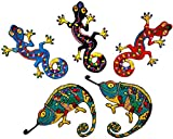 i-Patch - Patches - 0115 - Gecko - Echse - Eidechse - Reptilien - Salamander - Aufbügler - Flicken - Aufnäher - Sticker - Badges - Bügelbild - Applikation - Zum aufbügeln - Lurch - Gekko - Chamäleon