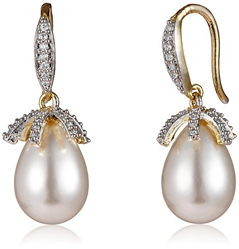 Ava American Diamond Earrings (Gold) (E-B-1114)