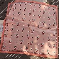 Hmeili Bufanda Cuadrados Pequeños Pañuelos De Seda Simulados Bufanda De Seda Simulada Invierno Primavera Verano
