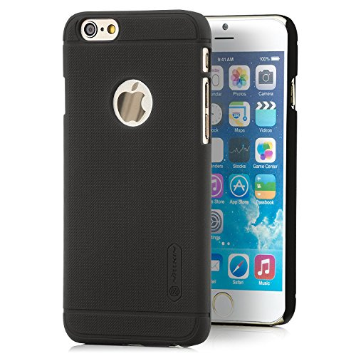 Nillkin Schutzhülle Apple iPhone 6 6S Hülle Slim Case Premium Farbe Weiß Dunkelbraun
