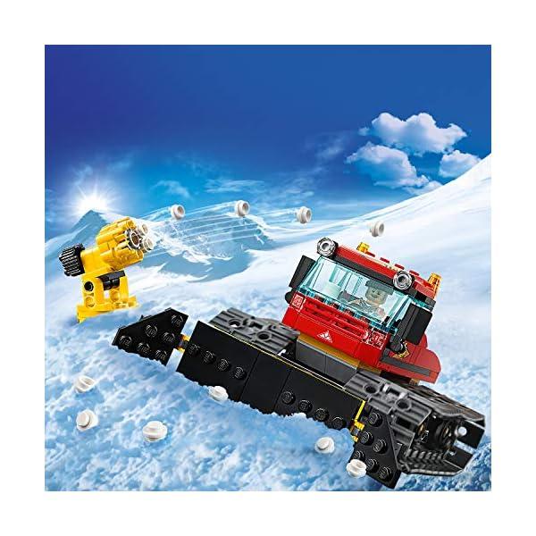LEGO City - Gatto delle nevi, 60222 4 spesavip