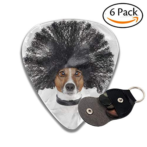 Salon-wellness-design (Wxf Bad Hair Day Dog Ready To Look Beautiful At The Wellness Spa Salon Isolated On White Background Colorful Celluloid Guitar Picks Plectrums For Guitar Bass 6 Pack.46mm)